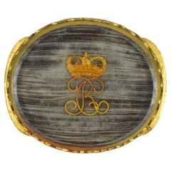 Very Rare Original King Charles Period Stuart Crystal Slider
