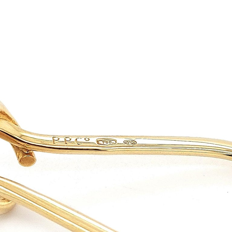 Very Rare Patek Philippe & Co. Gold Keychain / Keyholder in 18 Karat Yellow Gold For Sale 2