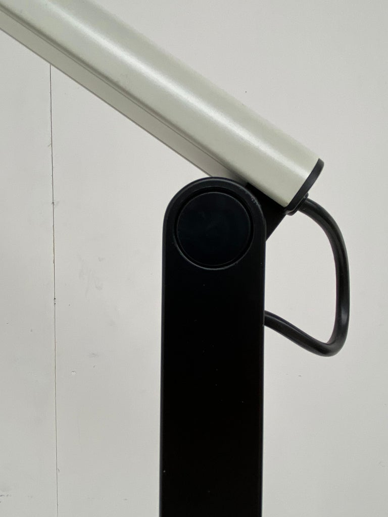 Very Rare Published Ettore Sottsass Jr. Design Floor Lamp for Erco Germany, 1973 For Sale 7