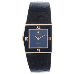 Very Rare Rolex King Midas 18 Karat Yellow Gold Men's Watch Ref 4153