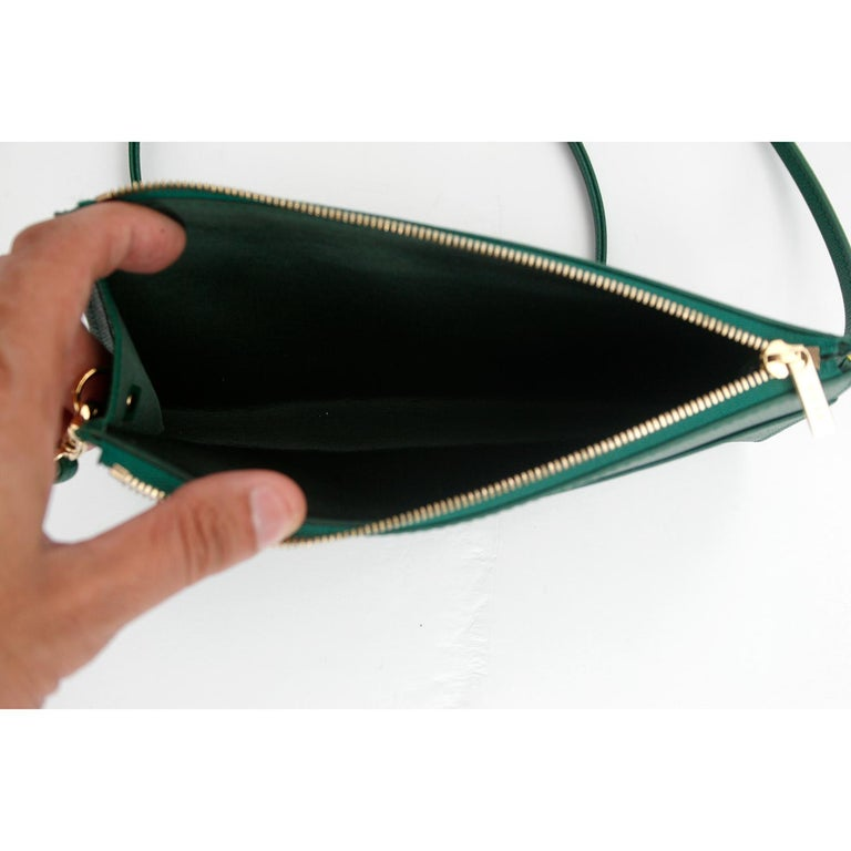 Women's Very Rare Rolex Leather Purse For Sale