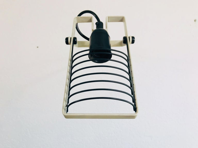 Very Rare Sintesi Wall Lamp by Ernesto Gismondi for Artemide, Italy, 1970s In Good Condition For Sale In Hagenbach, DE