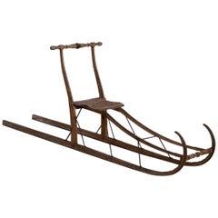 Very Rare Swedish Sled, Early 19th Century