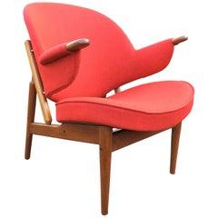 Very Rare Teak Armchair by Arne Hovmand Olsen