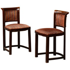 Very Rare Thonet Chairs Attributed to Josef Hoffmann