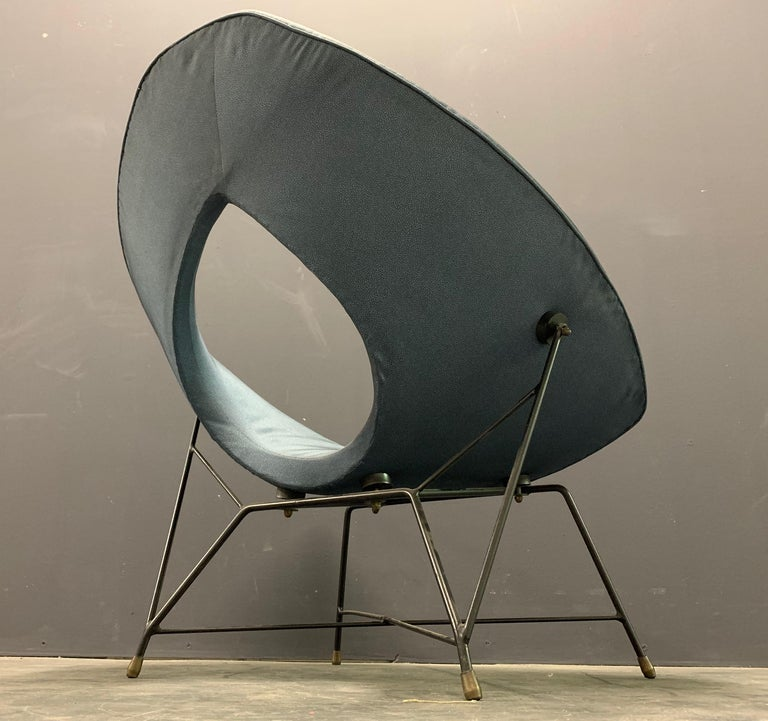 Very Rare Variation of the Famous Cosmos Chair by Augusto Bozzi For Sale 3