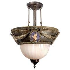 Very Royal Bronze Unicorn Lamp