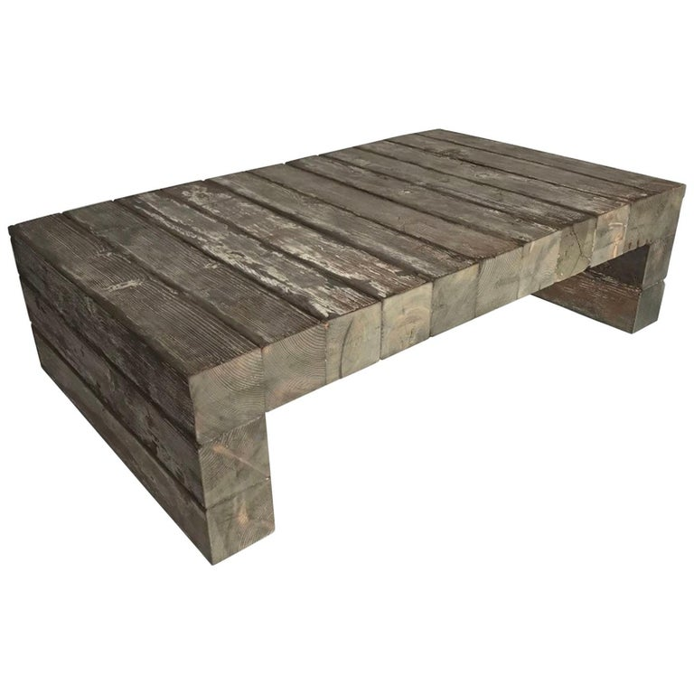 Reclaimed Wood Coffee Table 8