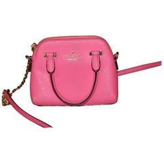 Very Small Kate Spade Pink Leather Bag