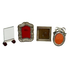 Very Small Standing Models Silver Photo Frames from Different Countries