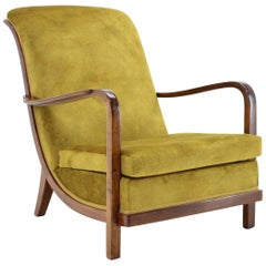 Very Special and Rare Armchair by Knoll Antimott, 1930s