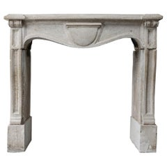 17th Century Antique Fireplace from Chateau Verdun - France