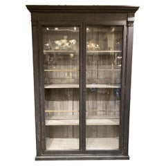 Very Tall, Handsome Rare Antique Display Cabinet