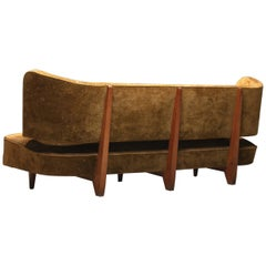 Important Rare Sofa Designed by Theo Ruth for Artifort Maastricht, 1949