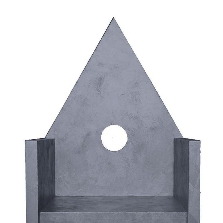 Vescovina Armchair by Lanfranco Benvenuti In New Condition For Sale In Milan, IT