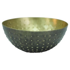 Vesi Bowl in Antique Brass by CuratedKravet