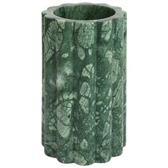 Vesta Small Foresta Hand Carved Marble Vase by Greg Natale