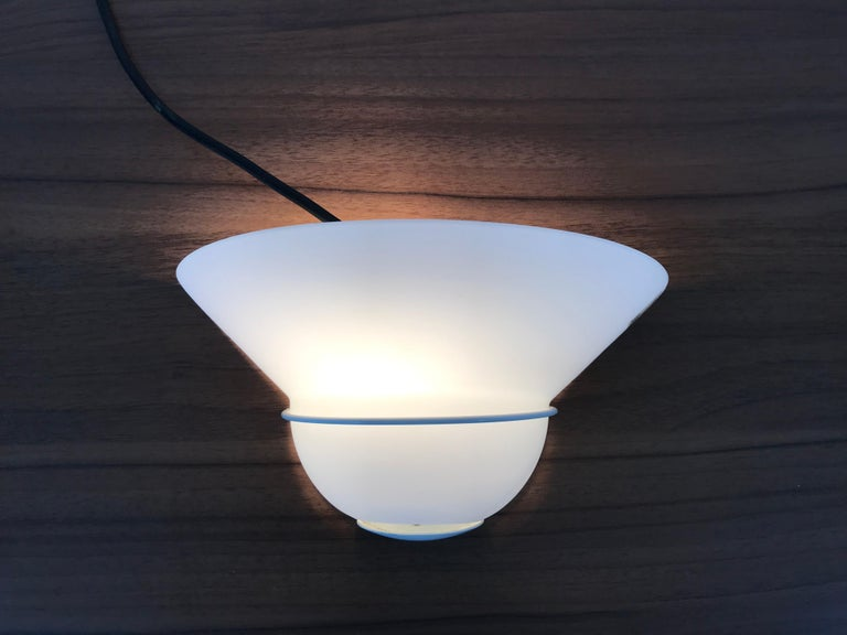 Vetri d'Arte Murano Glass Wall Lamp, Italy, 1970s For Sale 2