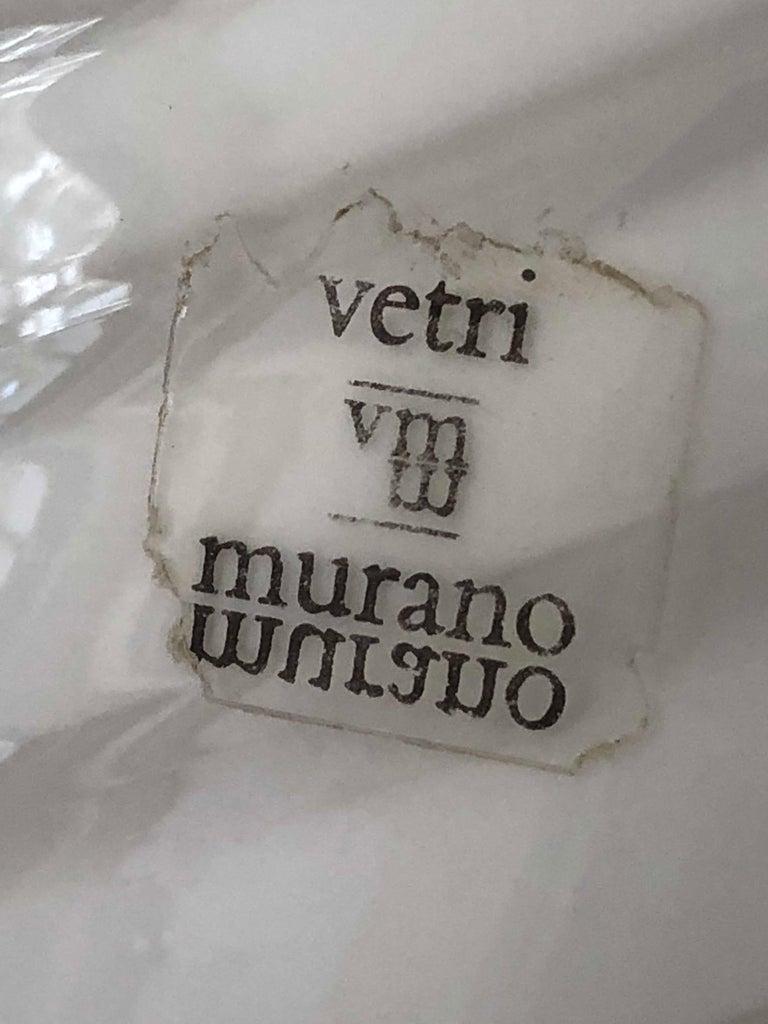 Italian Vetri Murano Egg Lamp For Sale