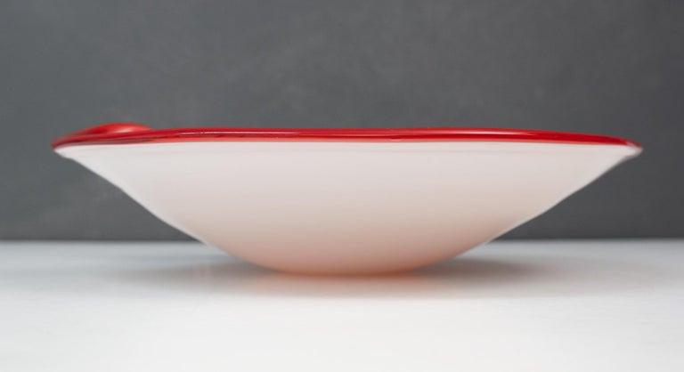 Mid-20th Century Vetro Artistico Veneziano Murano Class Bowl For Sale