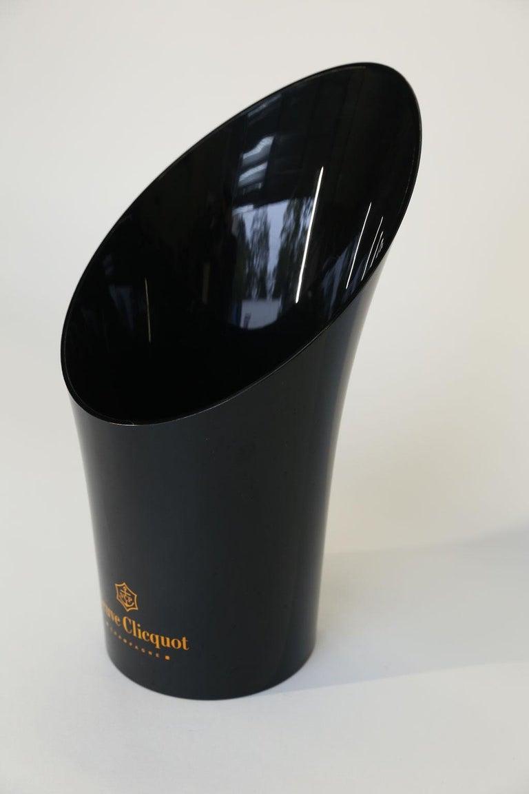20th Century Veuve Clicquot Acrylic Champagne Cooler