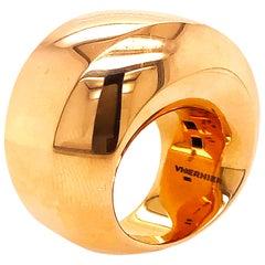 Vhernier 2019 Aladino Rose Gold Cocktail Ring