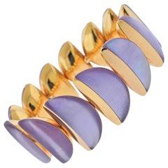 Vhernier Eclisse Siderite Rose Gold Bracelet