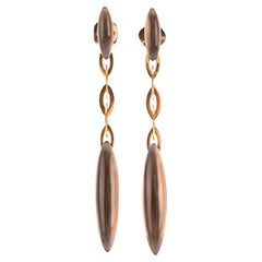 Vhernier Fuseau Earrings 18 Karat Rose Gold