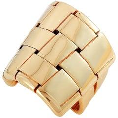 Vhernier Giunco Due 18 Karat Rose Gold Ring
