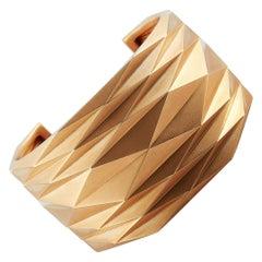 Vhernier Plissé 18 Karat Rose Gold Bracelet