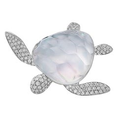Vhernier Sea Turtle Brooch