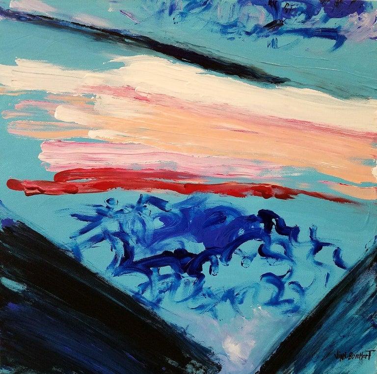 Revolutionary Waves VENDOR VIAN BORCHERT - Painting by Vian Borchert