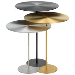 Riluc, Vibe Table, Titanium Gold and Grey, designed in 2013 by Toni Grilo