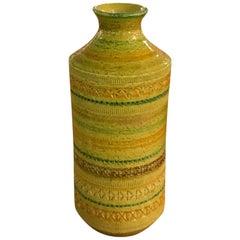 Vibrant Glazed Aldo Londi Vase by Rosenthal