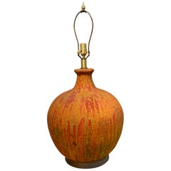 Vibrant Midcentury Modern Lamp