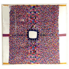 Vibrantly Colored South or Central American Tapestry