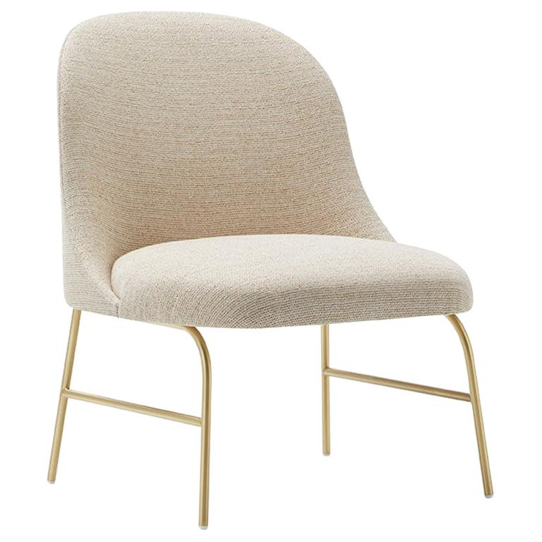 Viccarbe Aleta Lounge Chair by Jaime Hayon, Crevin Gaudi 05 Fabric