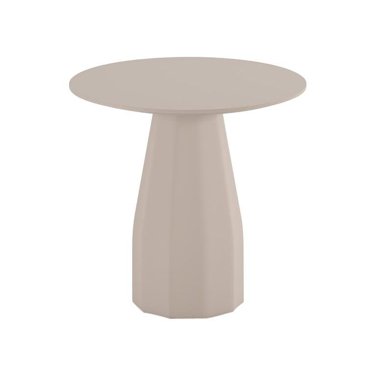 Viccarbe Dining Burin Table, Taupe/Black Finish by Patricia Urquiola