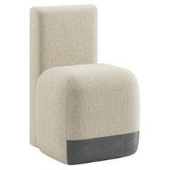 Viccarbe Season Chair by Piero Lissoni, in Fabric Crevin Gaudi 05
