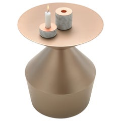 Viccarbe  Shape Low Table O, Bronze Finish by Jorge Pensi