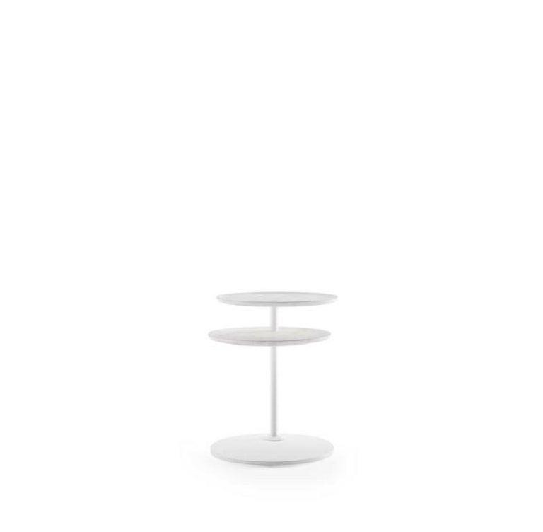 Modern Molteni&C Vicino Coffee Table Foster+Partners Design White Marble For Sale