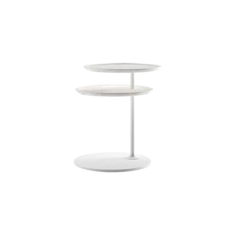 Molteni&C Vicino Coffee Table Foster+Partners Design White Marble