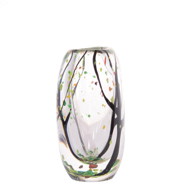 Signed art glass called