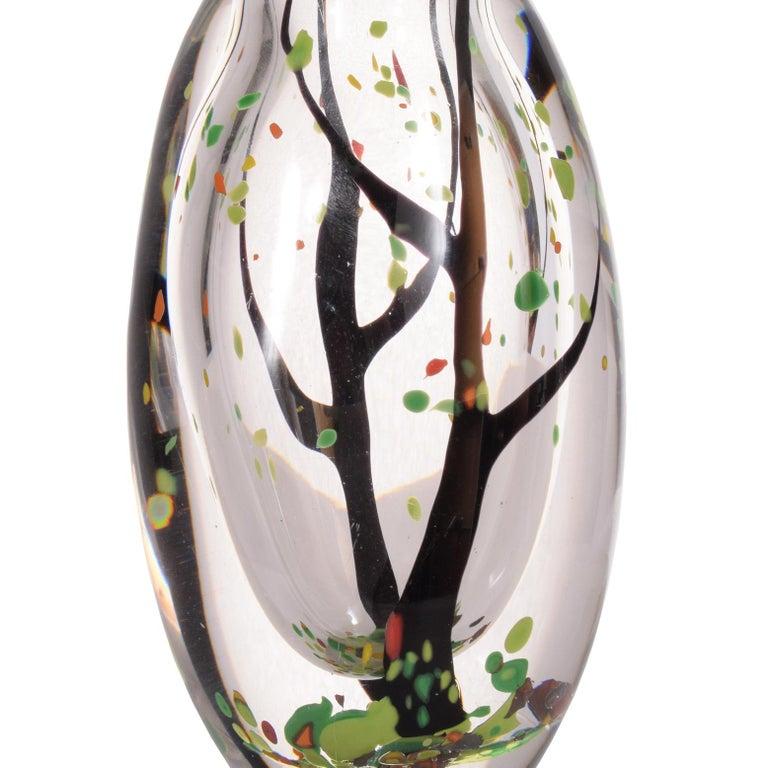 Swedish Vicki Lindstrand Art Glas