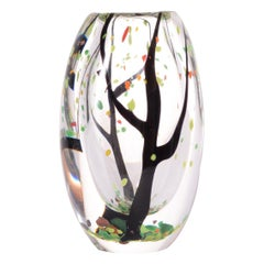 """Vicki Lindstrand Art Glas """"Hüst"""" for Kosta"""