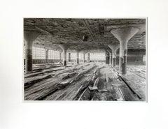 """Warped"", black and white, photograph, platinum, palladium, print, industry"