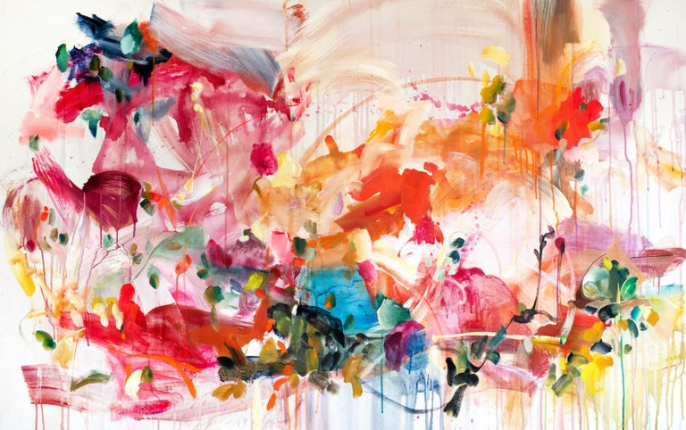 Vicky Barranguet Abstract Painting - Breath In
