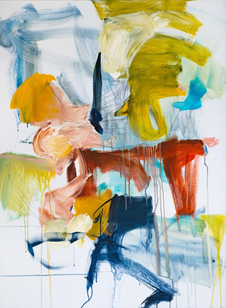 Vicky Barranguet Abstract Painting - Follow the Sound