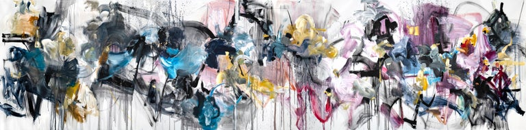 Vicky Barranguet Abstract Painting - Love by the Yard 1
