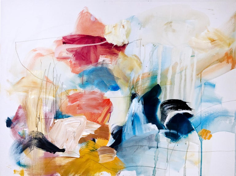Vicky Barranguet Abstract Painting - Some Kind of Magic